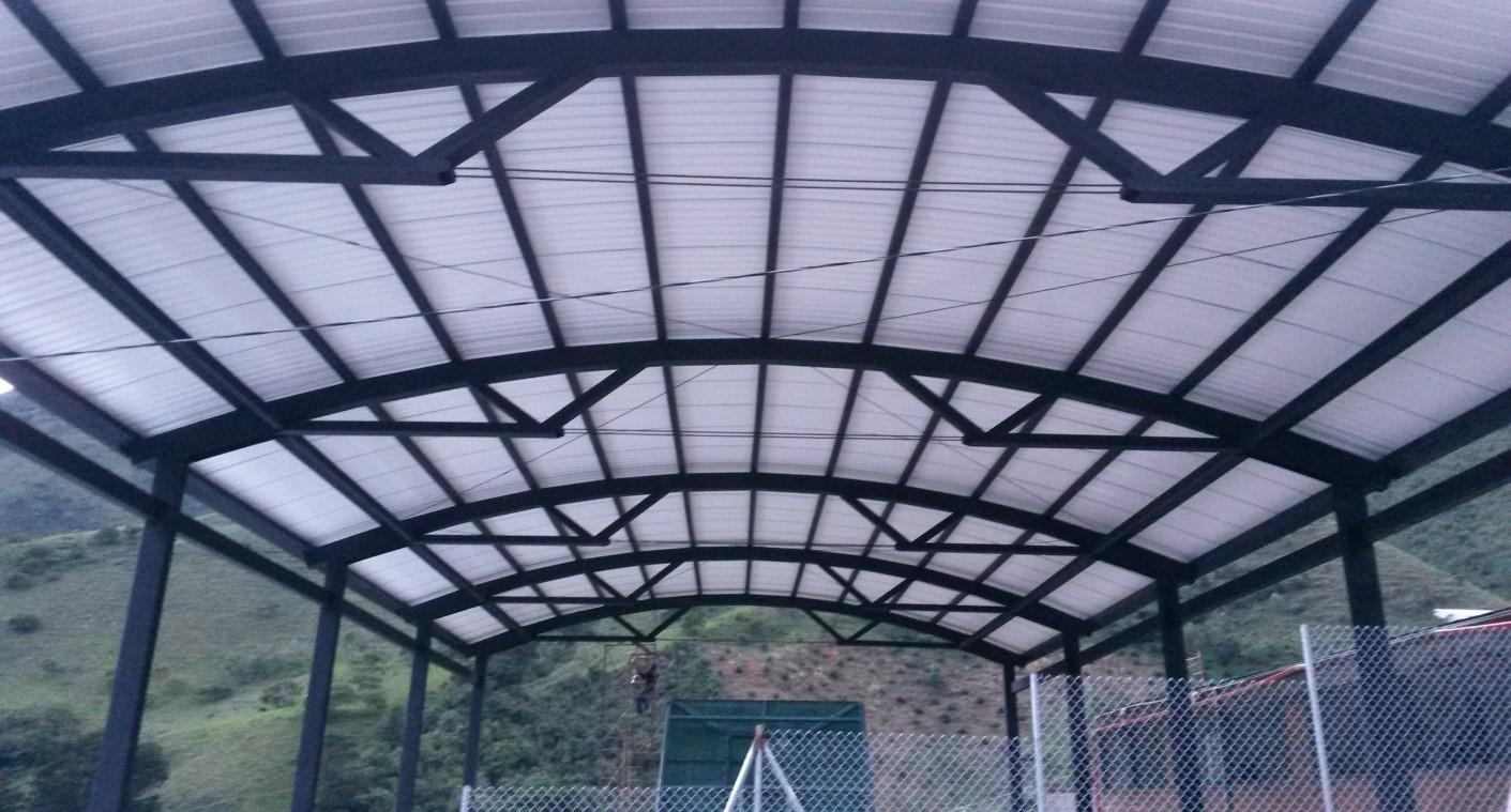 Cubierta coliseo Liborina Antioquia